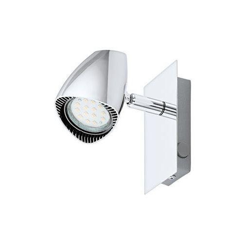 Kinkiet lampa sufitowa ścienna spot Eglo Corbera 1x3W GU10 LED chrom 93672 (9002759936723)