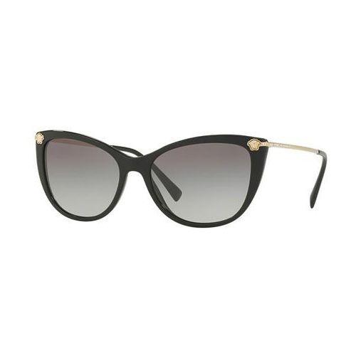 Okulary Słoneczne Versace VE4345B GB1/11, kolor żółty