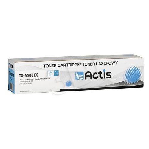 Actis Toner tx-6500cx (do drukarki xerox, zamiennik 106r01601 2500str. cyan)- wysyłamy do 18:30 (5901443100775)