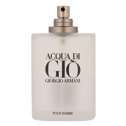 acqua di gio homme woda toaletowa 100ml spray tester (72831) marki Giorgio armani