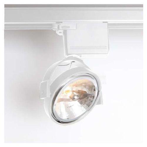 Reflektorowa lampa sufitowa sakura 6606/g53/bi metalowa oprawa do systemu szynowego 3-fazowego biały marki Shilo