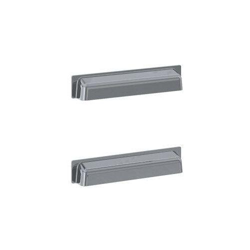 uchwyty inge new metalowe, chrom, do szafek podumywalkowych, 2 sztuki 167191 marki Elita