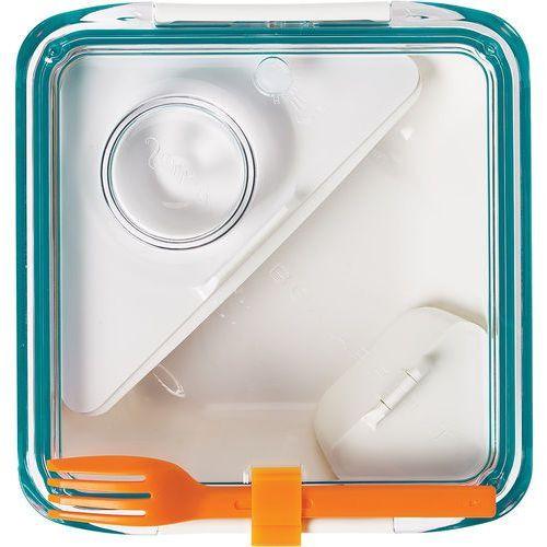 Lunch box Box Appetit Black Blum biało-niebieski ZAMÓW PRZEZ TELEFON 514 003 430 (5060089721406)