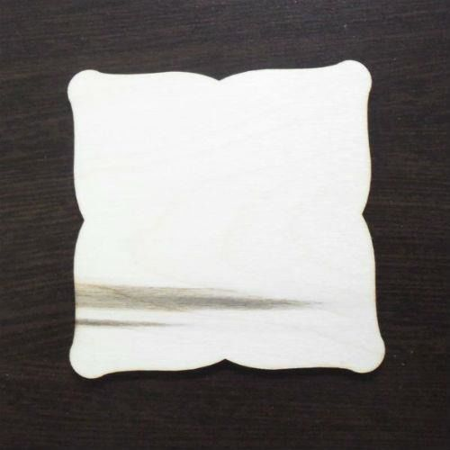 Drewniana tabliczka do decoupage 10x10 cm - 02