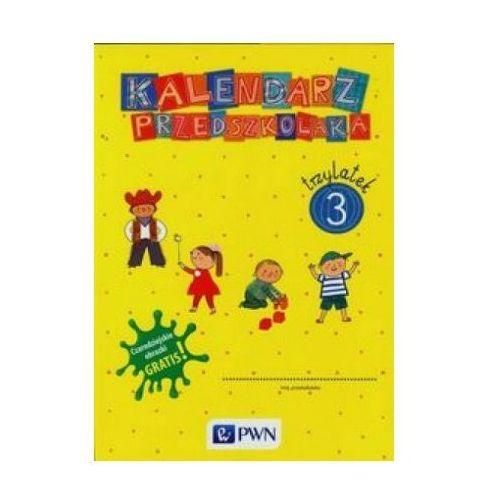 Kalendarz przedszkolaka 3 latek TECZKA