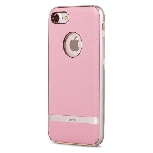 Moshi Napa Etui Obudowa iPhone 8 / 7 (Melrose Pink) (4713057250415)