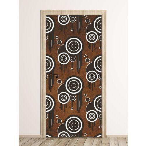 Wally - piękno dekoracji Fototapeta na drzwi abstrakcyjne wzory fp 6230