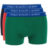 3 pack panty dark blue/green/light red, Polo ralph lauren, S-XXL