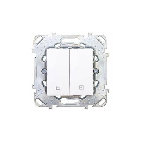 Schneider Unica Plus Przycisk żaluzjowy - Biel polarna MGU50.207.18Z (8420375141559)