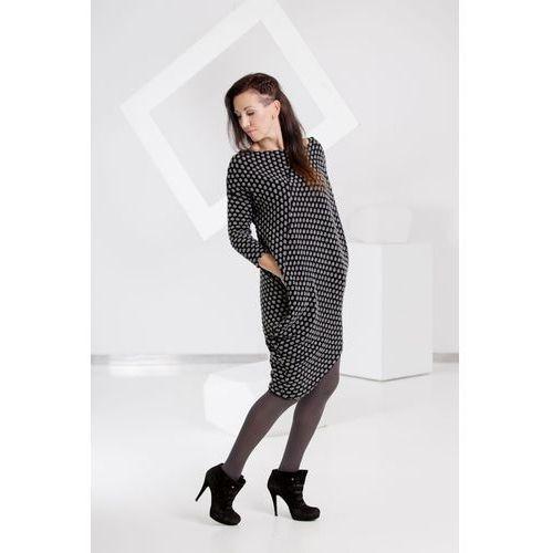 Myannie Sukienka Crazy Dots, czarna