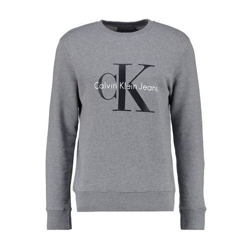 Calvin Klein Jeans CREW NECK Bluza mid grey heather, J3IJ302252