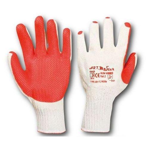Rękawice ochronne Art master RGSp kat. 2 Czarwone