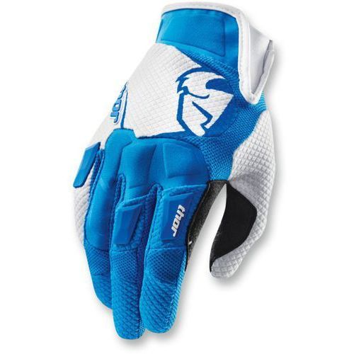 THOR RĘKAWICE FLOW S15 OFFROAD GLOVES BLUE/WHITE=$