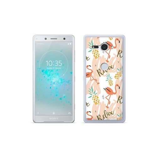 Etuo fantastic case - sony xperia xz2 compact - etui na telefon fantastic case - różowe flamingi marki Etuo.pl