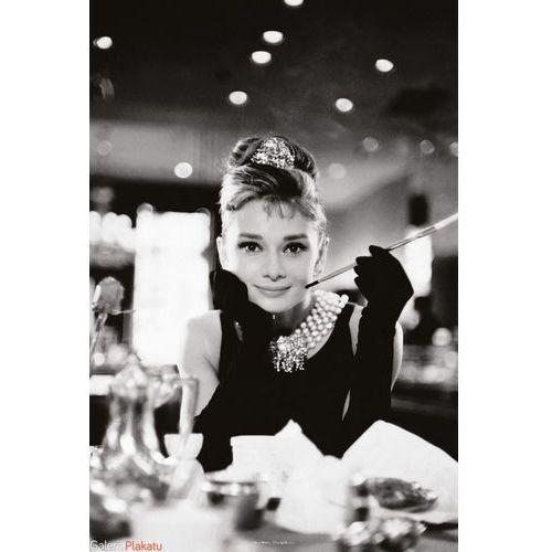 Audrey hepburn (breakfast at tiffanys) - plakat wyprodukowany przez Brak