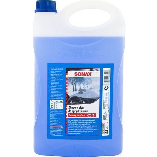 Zimowy płyn do spryskiwaczy (-20°C) SONAX 4 litry