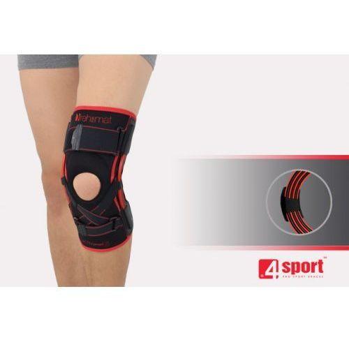 Orteza stawu kolanowego z szynami elastycznymi i stabilizatorem