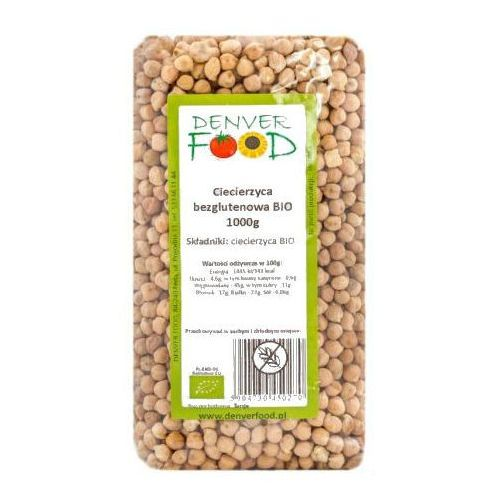 Denver food Ciecierzyca bezglutenowa bio 1 kg  (5904730450270)