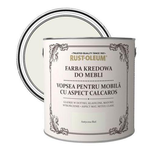 Rust-oleum Farba kredowa do mebli antyczna biel 2,5 l