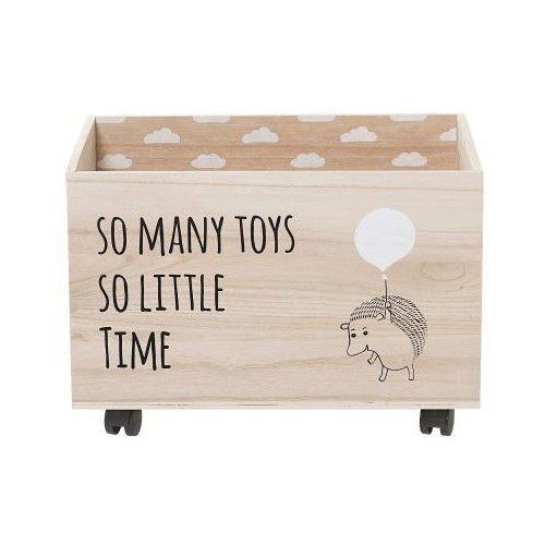 Skrzynia na zabawki z jeżykiem - marki Bloomingville