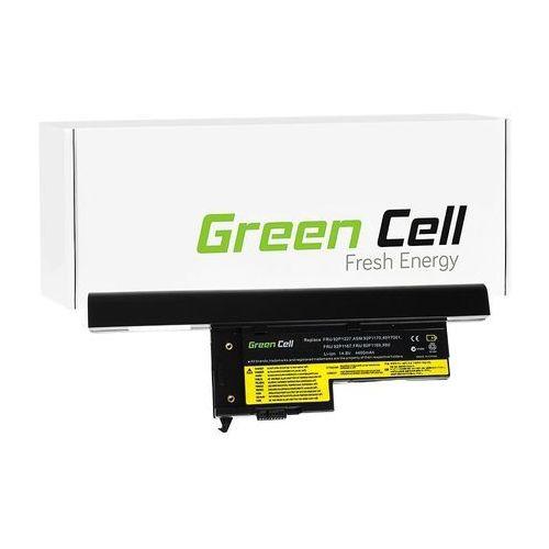 Bateria Green Cell do laptopa Lenovo IBM Thinkpad X60, X61, X60s, X61s 14.4V, 8 cell (LE17) Darmowy odbiór w 21 miastach! (5902701415884)