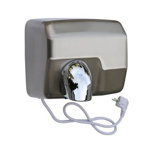 Elektryczna suszarka do rąk starflow - obudowa metalowa, stal matowa marki Merida