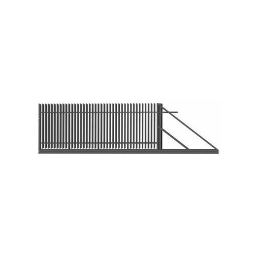 Polbram Brama przesuwna negros 400 x 150 cm prawa