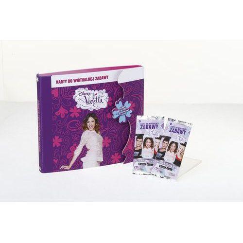 Giochi Preziosi. Disney Violetta. Album na Karty do Wirtualnej Zabawy [od 6 lat] - Giochi Preziosi