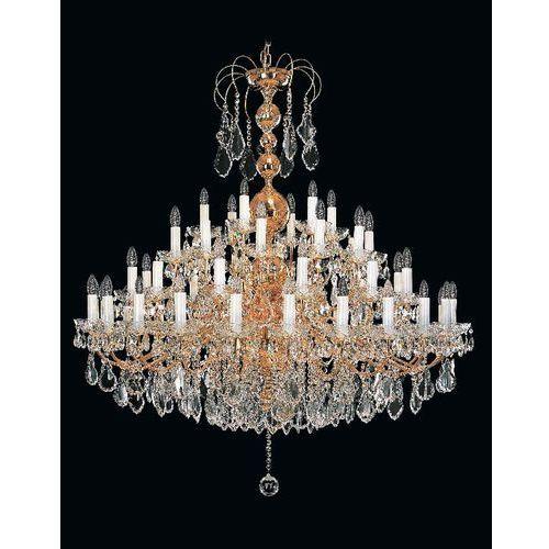 Żyrandol kryształowy pałacowy 54-ramienny - marki Elite bohemia