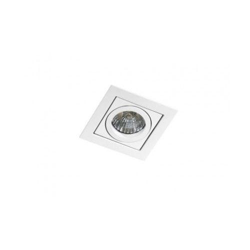 Oczko lampa sufitowa oprawa wpuszczana Azzardo Paco 1 1X50W GU10 białe GM2103 (5901238407966)