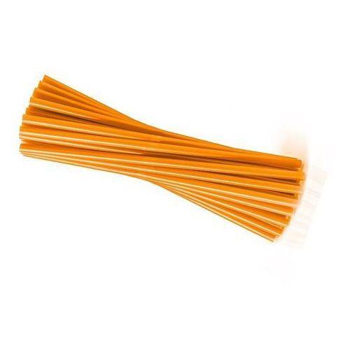 Słomki - rurki pomarańczowe proste - 25 cm - 20 szt. marki Go