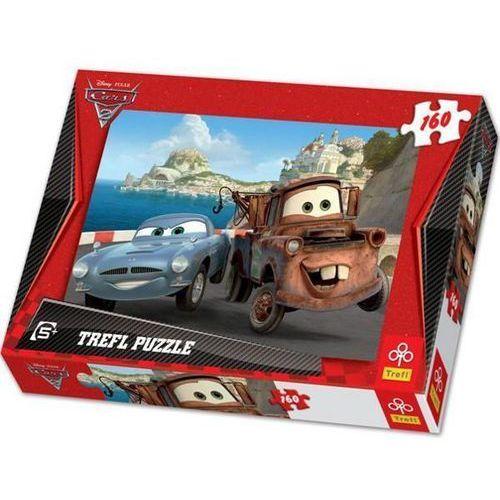 Trefl Puzzle  auta 2 złomek i finn 160 elementów