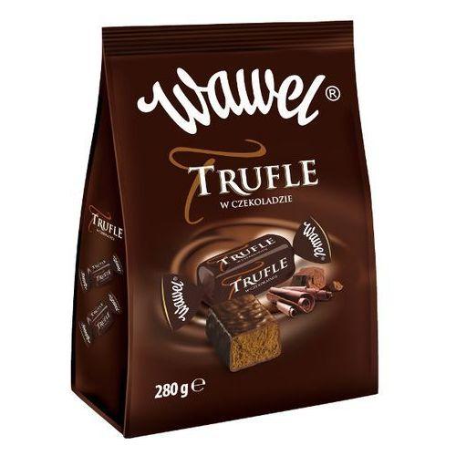 WAWEL 280g Trufle w czekoladzie Cukierki o smaku rumowym | DARMOWA DOSTAWA OD 150 ZŁ!