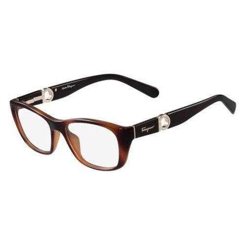 Salvatore ferragamo Okulary korekcyjne  sf 2765 214