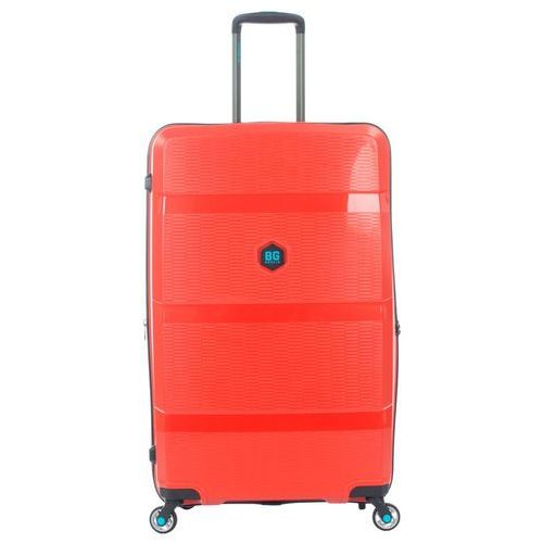 BG Berlin ZIP2 walizka duża poszerzana antywłamaniowa 81 cm / Latin Red - Latin Red