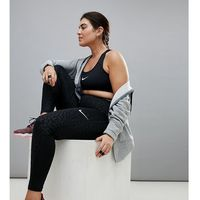 Nike training Nike plus training spotted cat leggings in black - black