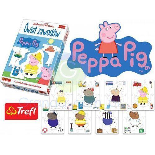 Gra świat zawodów peppa bajkowa akademia 01339 wyprodukowany przez Trefl