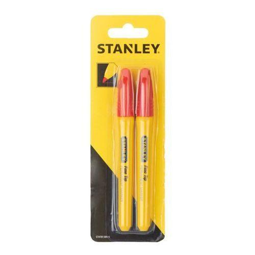 Stanley Marker fine tip czerwony x 2 (3253560813895)