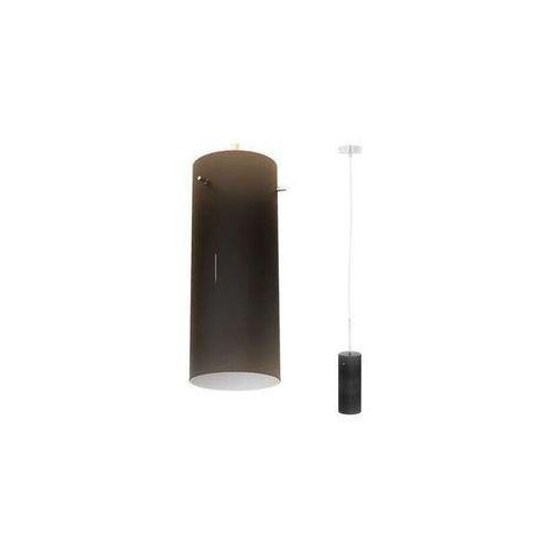 LAMPA wisząca SANSSOUCI R10508 Redlux szklana OPRAWA zwis tuba czarna, R10508