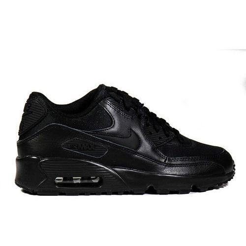 Buty Nike Air Max 90 Mesh GS Black- 833418-001