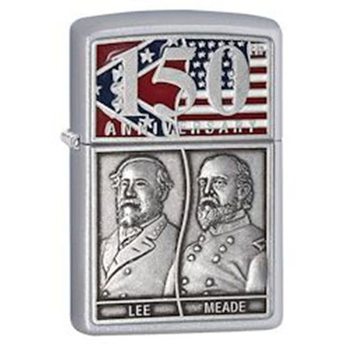 Zippo Zapalniczka  gettysburg 150'th anniversary, limited edition, satin chrome