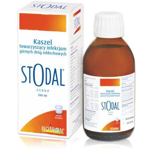 Stodal syrop 200 ml (lek homeopatia)