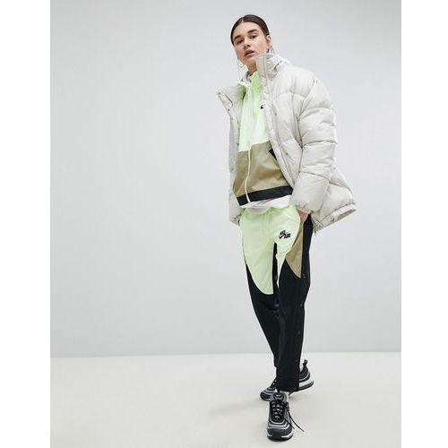 colourblock woven popper track pants - multi marki Nike