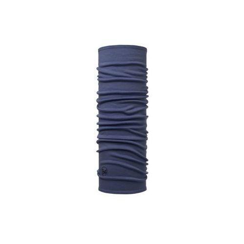 Chusta Wool Midweight Buff Solid Blue Estate - Solid Blue Estate \ Niebieskiego