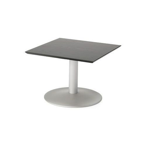 Stolik kawowy CROSBY, 700x700x500 mm, czarny, aluminium, 131802
