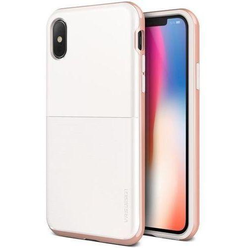 Etui VRS Design High Pro Shield S iPhone X White Rose
