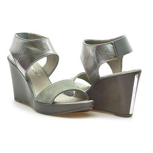 Sandały Karino 1501/002-P Szary
