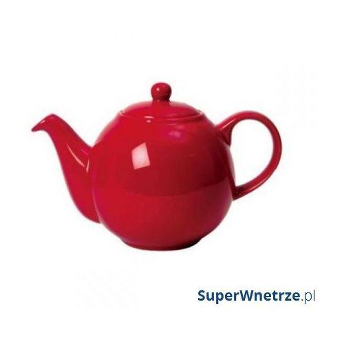 Dzbanek do herbaty 1,5 l London Pottery czerwony