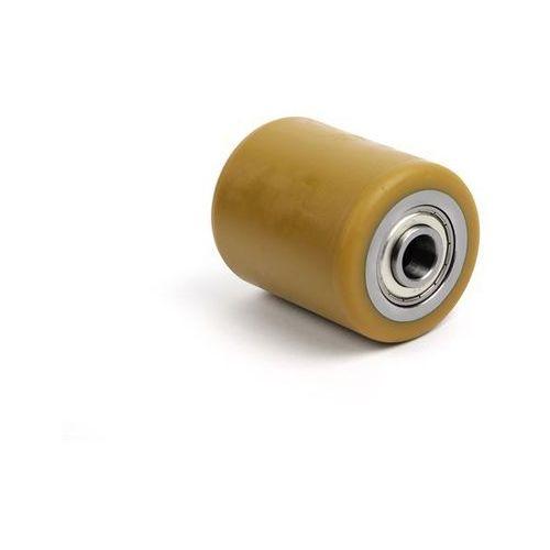 Rolka widłowa, poliuretan, dł. mocowania 104 mm. Z poliuretanu, z metalowym rdze