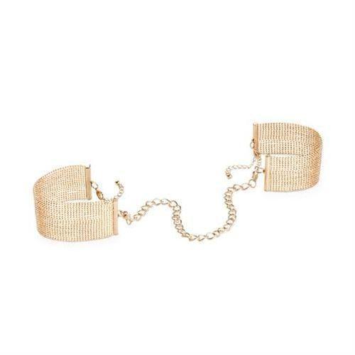 Kajdanki-bransoletki Bijoux Indiscrets Magnifique (złote) z kategorii Kajdanki erotyczne